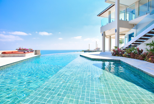 Big seaview wedding villa in Koh Samui
