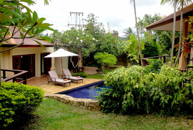 Low budget family villa for rent in Koh Samui Thailand