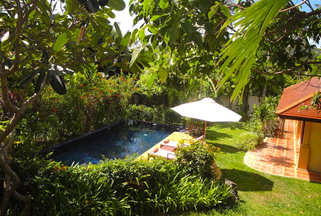 Cheap villa for rent in Koh Samui Thailand