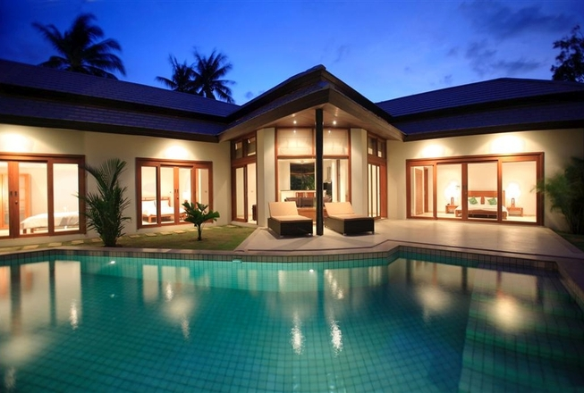 Villa 3 bedrooms for rent on Koh Samui Thailand