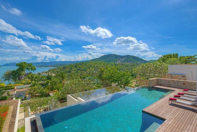 4 bedrooms amazing luxury villa for rent - Koh Samui