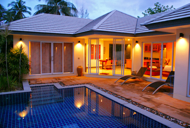2 bedroom villa in Lipa Noi beach for rent — Koh Samui Thailand